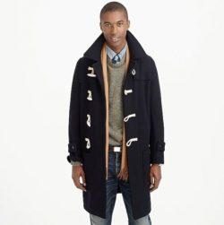 J.Crew Wallace & Barnes Men's Wool Toggle Coat