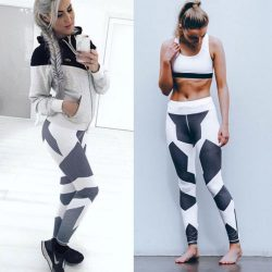 Womens Yoga Pants, Fitness Leggings, Running, Jogging, Gym Exercise Sports Pants