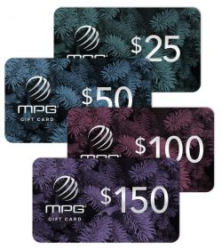 MPG ONLINE GIFT CARDS AVAILABLE NOW