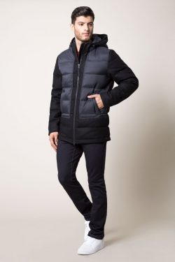 VENTURE MELTON WOOL DOWN FILLED JACKET
