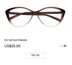Iris Cat Eye Glasses