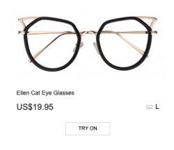 Ellen Cat Eye Glasses