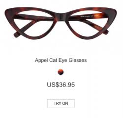 Appel Cat Eye Glasses