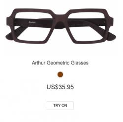 Arthur Geometric Glasses