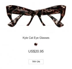 Kyle Cat Eye Glasses