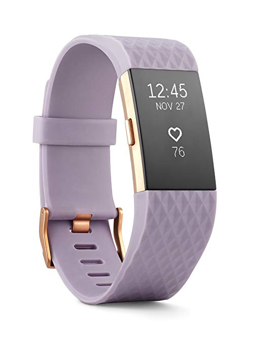 The absolute bestseller – Fitbit Charge 2 Heart Rate + Fitness Wristband, Black, Large (US ...