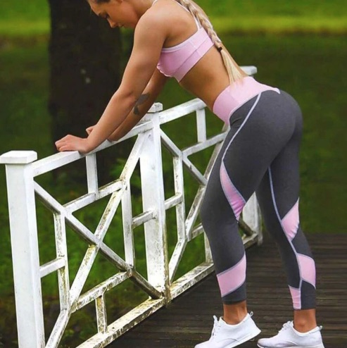 High Waist Super Stretchy Fitness Leggings, Workout Pants