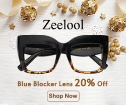 Christmas Sales at Zeelool – 60% OFF – Check it out here..