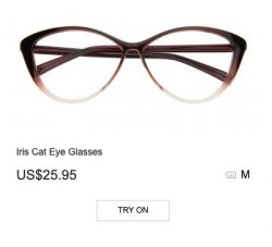 Iris Cat Eye Glasses