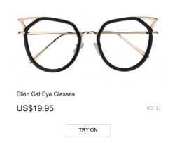 Ellen Cat Eye Glasses