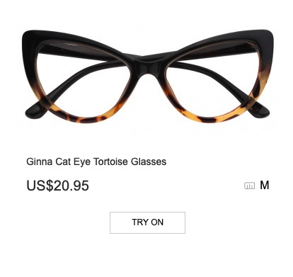 671a15195093f Another amazing pair of glasses from Zeelool – Ginna Cat Eye Tortoise  Glasses
