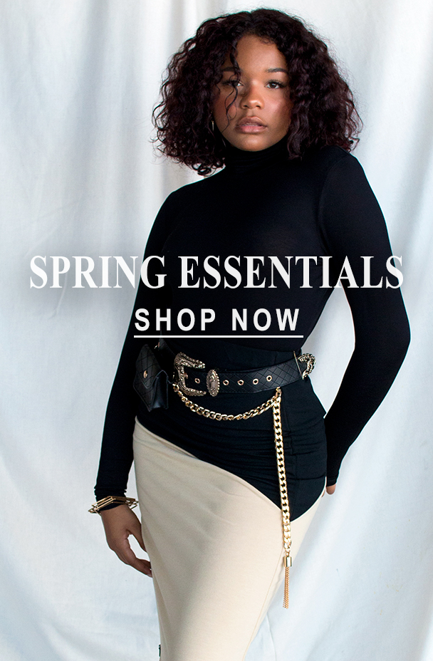 Spring essentials from PoeticJusticeJeans and why we love them so much!