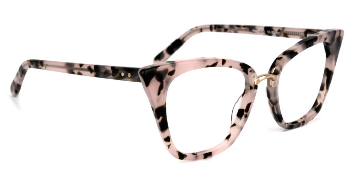 Martha Cat Eye Pink Floral Glasses