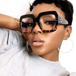 Abigail Square Eyeglasses