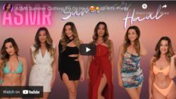 ASMR Summer Clothing Try On Haul 😍☀️(SHEIN, PrettyLittleThing, Oh Polly & Dolls Kill)