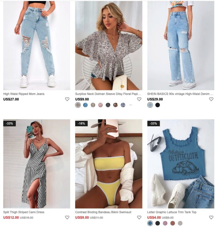 Check out the hottest summertime collection at SHEIN! Get up to 85% Off!!